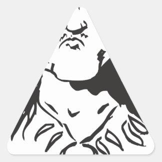 2-much-sauce triangle sticker