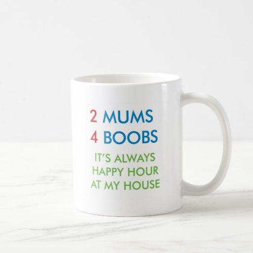 2 mums coffee mug
