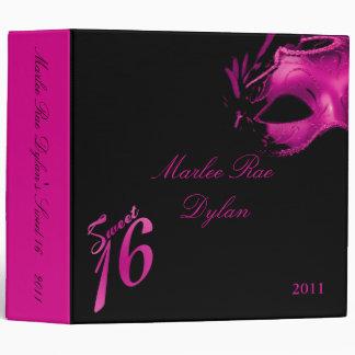 """2"""" negro de las rosas fuertes del dulce 16 del lib"""