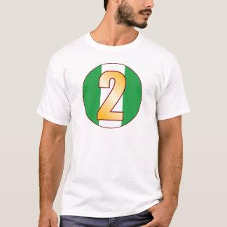 2 NIGERIA Gold T-Shirt