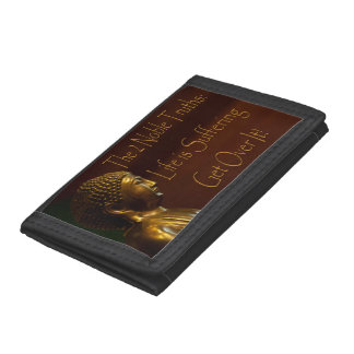 2 Noble Truths Trifold Wallet