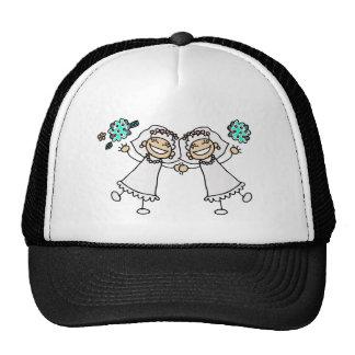 2 novias gorra