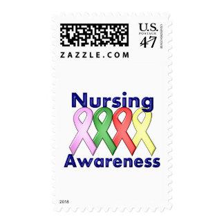 2 Nursing Awareness Postage