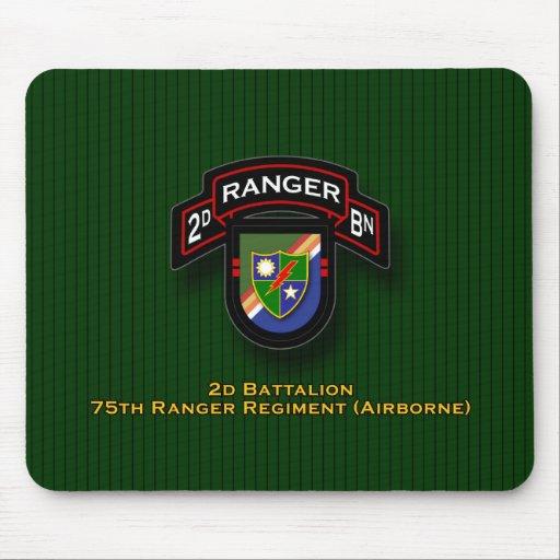 2.o Bn, 75.o regimiento de guardabosques - aerotra Mousepad