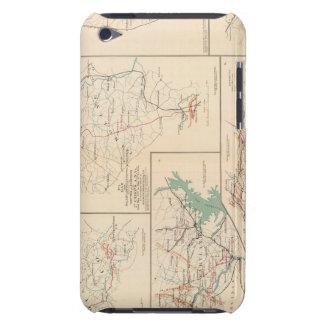 2.o El cuerpo un Va, campos, piquetes, encamina Cubierta Para iPod De Barely There