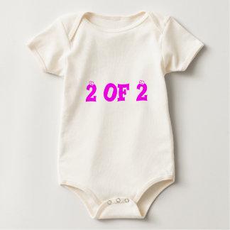 2 of 2 baby bodysuits