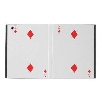 2 of Diamonds iPad Cover