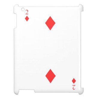 2 of Diamonds iPad Covers