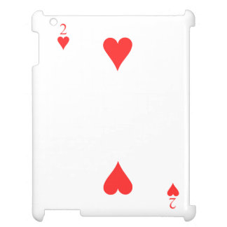 2 of Hearts iPad Covers