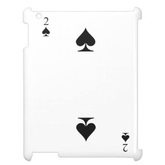 2 of Spades Cover For The iPad 2 3 4