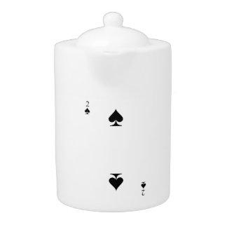 2 of Spades Teapot