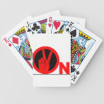 2 on bicycle card deck