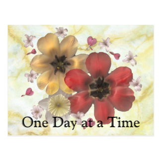 2 One Day at a Time Postcard