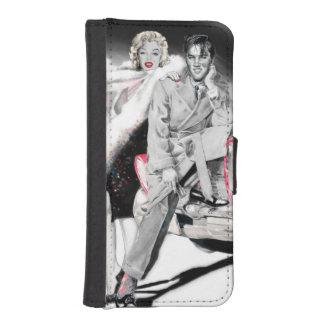 2 para el camino funda tipo billetera para iPhone 5