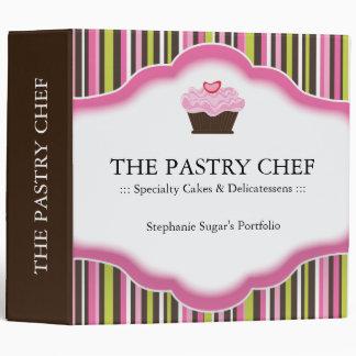 "2"" Pastry Chef Portfolio Binder"