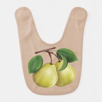2 Pears Bib