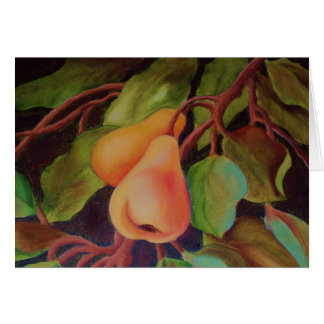 2 pears card