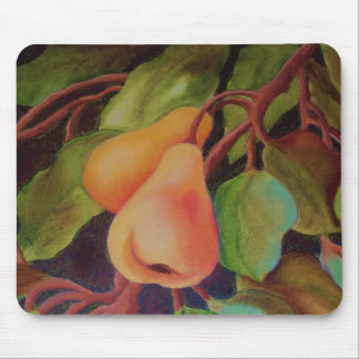 2 pears mouse pad