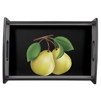 2 Pears Serving Tray