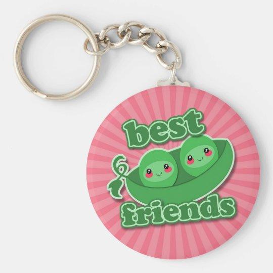 2 PEAS  BEST FRIENDS KEYCHAIN