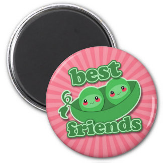 2 PEAS  BEST FRIENDS FRIDGE MAGNET