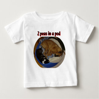 2 Peas in a Pod Baby T-Shirt