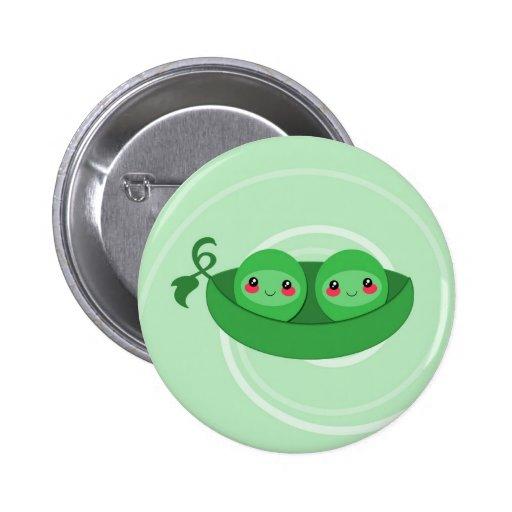 2 PEAS in a POD - button