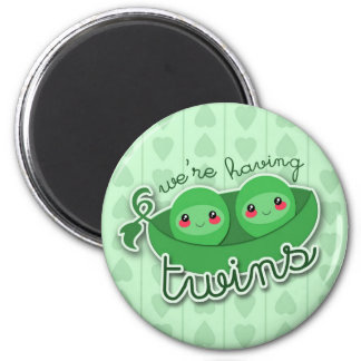 2 PEAS in a POD TWINS - magnet