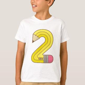 #2 Pencil T-Shirt