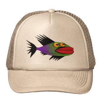 2 pescados gorras de camionero