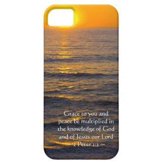 2 Peter 1:2 iPhone 5 Case