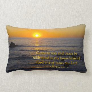 2 Peter 1:2 Pillows