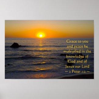 2 Peter 1:2 Print