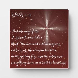 2 Peter 3:10 Plaque