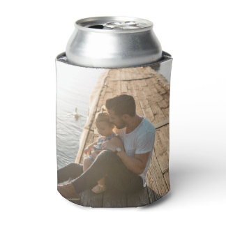 2 Photo Collage Can Cooler