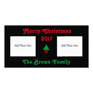 2 Photo Merry Christmas Card