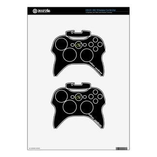 2 pieles inalámbricas del regulador de Solow Xbox Mando Xbox 360 Skin