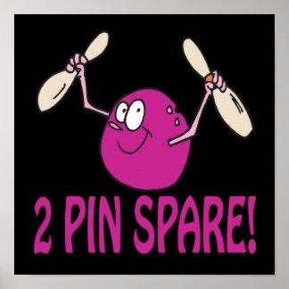 2 Pin Spare Print