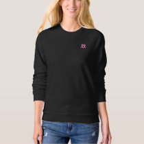 2 Pink Ribbons Breast Cancer Awareness Sweatshirt