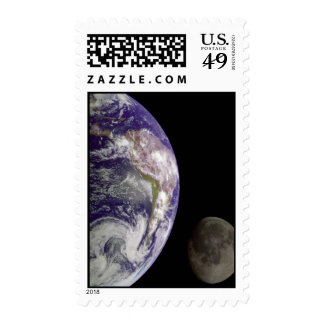 2 planet Stamp