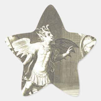 2.png religioso extraño pegatina en forma de estrella