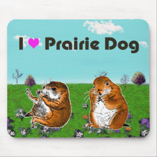 2 prairie dogs (2) mouse pad