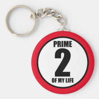 2 - prima de mi vida llavero redondo tipo pin