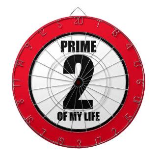 2 - prime of my life dartboard