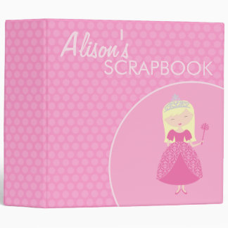 "2"" princesa Scrapbook Carpeta 2"""