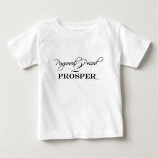 2 Purposed y contrapesados prosperan Playera De Bebé