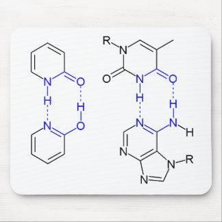2-Pyridone Chemical Basepair Mouse Pad