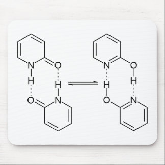 2-Pyridone Chemical Dimer Mouse Pad