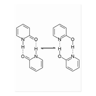 2-Pyridone Chemical Dimer Postcard