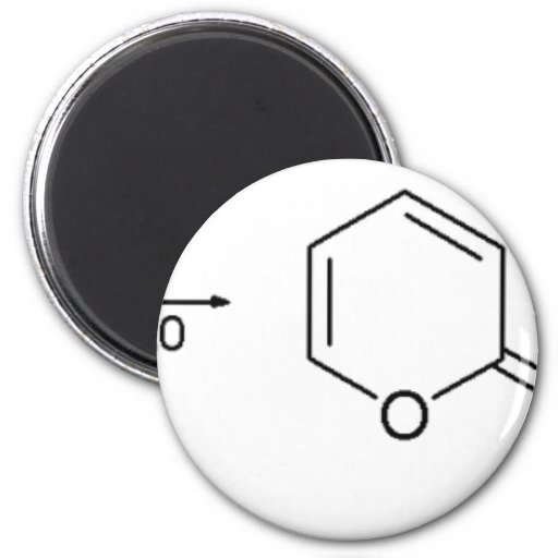 2-Pyridone Chemical Synthesis 1 Refrigerator Magnet